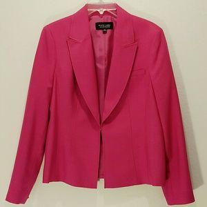 Evan-Picone Black Label Bright Pink Blazer